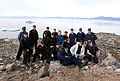 USCG sailors pose onshore during Operation Nanook, 120830-G-NB914-036.JPG