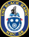 USS Black Hawk MHC-58 Crest.png