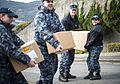 USS Bonhomme Richard (LHD 6) Sailors participate in a Food Drive 170123-N-WF272-020.jpg