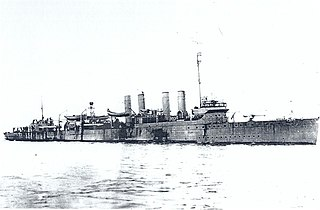 <i>Clemson</i>-class destroyer 1919 United States Navy destroyer class