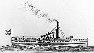 USS Harvest Moon (1863) - Image: USS Harvest Moon 66973