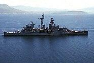 USS Little Rock (CLG-4) Mediterranean Sea 1974
