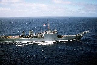 USS <i>Sumter</i> (LST-1181) Newport-class tank landing ship