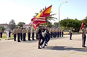 US Navy 020712-N-1147E-001 Color guard - Rota