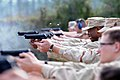 US Navy 090106-N-4740L-001 Seabees participate in an M9 9mm pistol qualification.jpg
