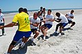 US Navy 090422-N-0625G-005 Partner nation sailors from the Marinha do Brasil ship BNS Constituicao (F42) compete in a tug-o-war competition during a two-day UNITAS Gold sports challenge event.jpg