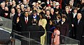 US President Barack Obama taking his Oath of Office - 2009Jan20 (A) (cropped).jpg
