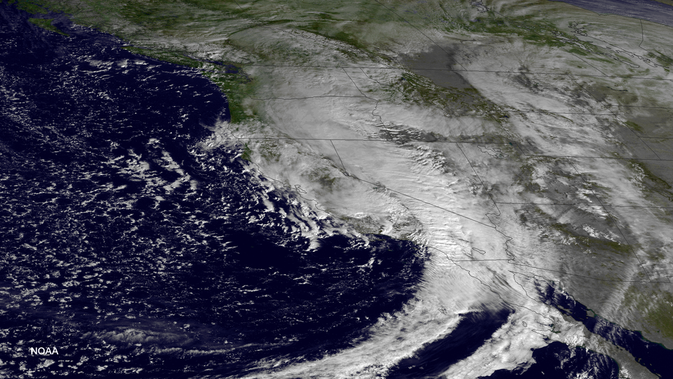 US West Coast storm 2014-12-12 1830Z