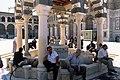 Umayyad Mosque, Damascus (دمشق), Syria - Ablution fountain in courtyard - PHBZ024 2016 1370 - Dumbarton Oaks.jpg