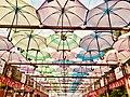 Umbrella roof near Meenakshi Amman Temple.jpg
