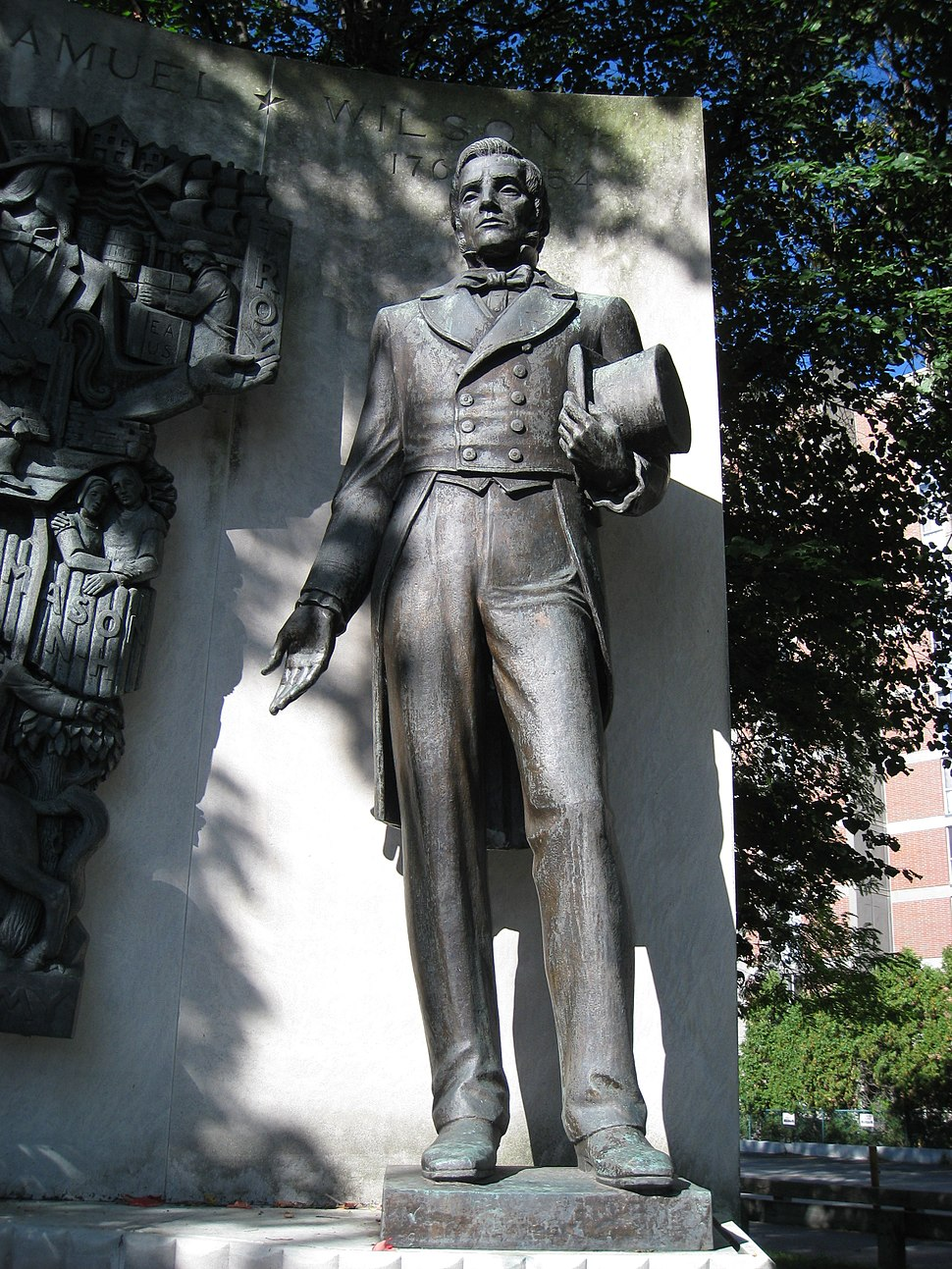 Uncle Sam Memorial Statue, Arlington, MA - Samuel Wilson