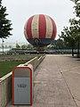 Une mongolfière au Lac Disney.JPG