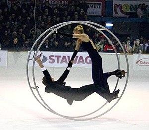 Wheel gymnastics - Rhönrad on ice