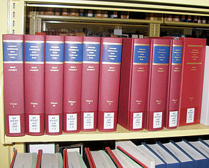 Uniform Commercial Code - Even the confidential rough drafts of the UCC were saved and published as a 10-volume set.
