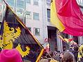 United Belgium Brussels demonstration 20071118 DMisson 00021b Belliard street flags.jpg