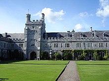 University college cork foi fundada em 1845 e é uma universidade