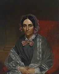 Mrs. George Washington Stanley (neé Clarissa Nichols,1793–1873)