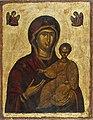 Unknown - tuntematon - ökänd- Theotokos Hodegetria, Bysantic icon - Jumalanäiti Hodigitria, bysanttilainen ikoni (28845470903).jpg