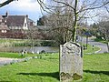 Upton village and pond from the churchyard - geograph.org.uk - 370720.jpg