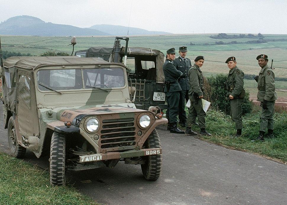Us army bundesgrenzschutz