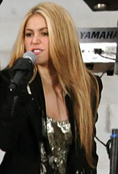 a53ac709a8 Shakira - Wikiwand