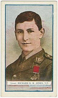 Richard Basil Brandram Jones Recipient of the Victoria Cross