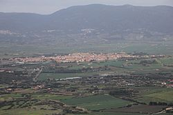 Skyline of  Valledoria