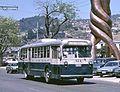 Valparaíso 814, 1947 Pullman trolleybus, Av Argentina - cropped.jpg