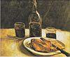 Van Gogh - Stillleben mit Flasche, Zwei Gläsern, Käse und Brot.jpeg