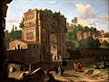Van Swanevelt, Herman - The Arch of Constantine, Rome - Google Art Project.jpg