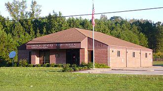 Vance, Alabama - The U.S. Post Office in Vance, Alabama