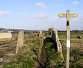 Vanguard Way Footpath from Tide Mills towards Newhaven - geograph.org.uk - 723250.jpg