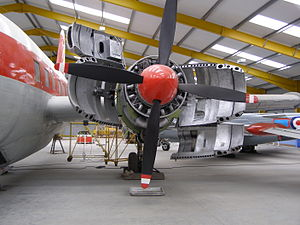 Vickers Varsity - Varsity T1 on display at the Newark Air Museum
