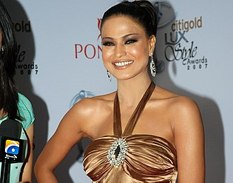 Nigar Awards - Image: Veena Malik at the red carpet event for the Lux Style Awards