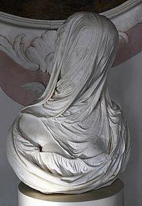 Veiled Dame by Antonio Corradini