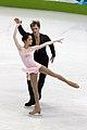Vera Bazarova and Yuri Larionov at the 2010 Olympics (1).jpg