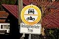 Verkehrsverbotsschild, Osterhofen, Bayern, StVO 1956.jpg
