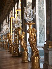 Gilded Sculptured Guéridons Were Commissioned To Replace Part Of The Silver  Furniture Melted In 1689 To Finance The War Of The League Of Augsburg.