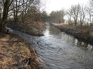 Mouth of the Aabach in the Hessel