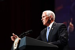 Vice President Pence at Christians United for Israel Washington Summit (48236872967)