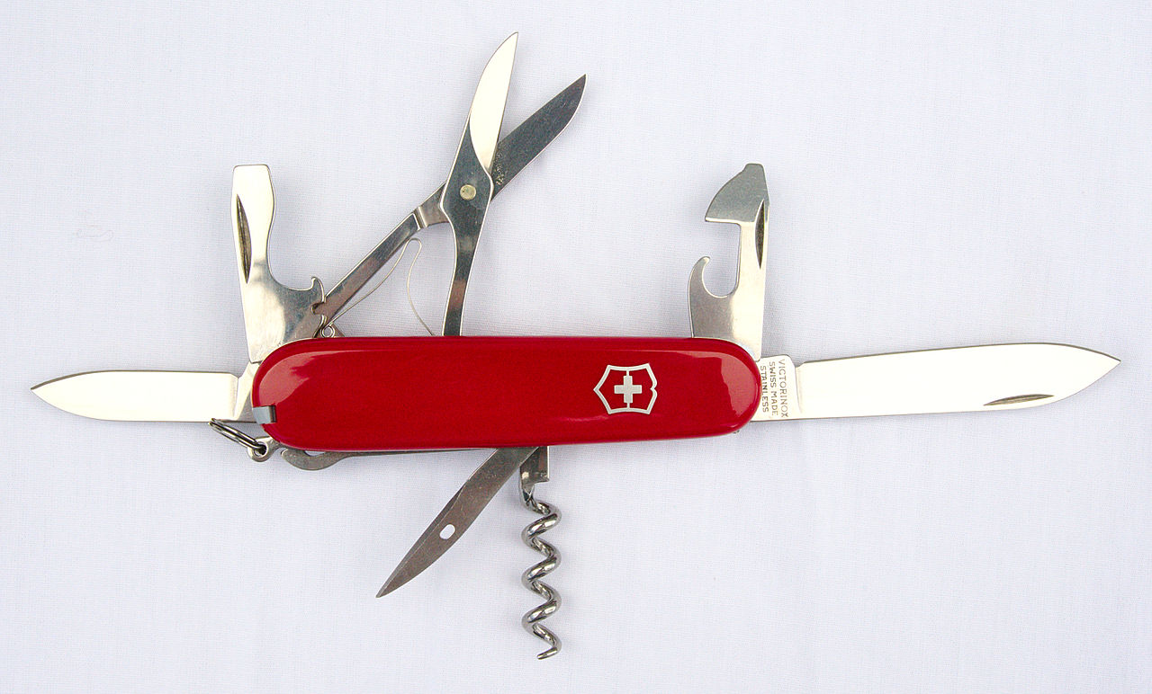 File Victorinox Swiss Army Knife Climber 15554551505
