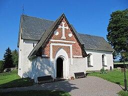 Vidbo kirke i juli 2010