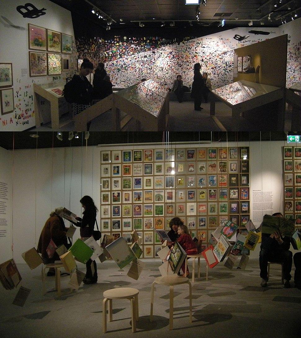 Vienna 2015-01-28 Wienmuseum, Mira Lobe exhibit X1