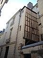 Vieux tours, rue Briçonnet, 1 rue du Poirier, maison et escalier-galerie XVII siècle.jpg