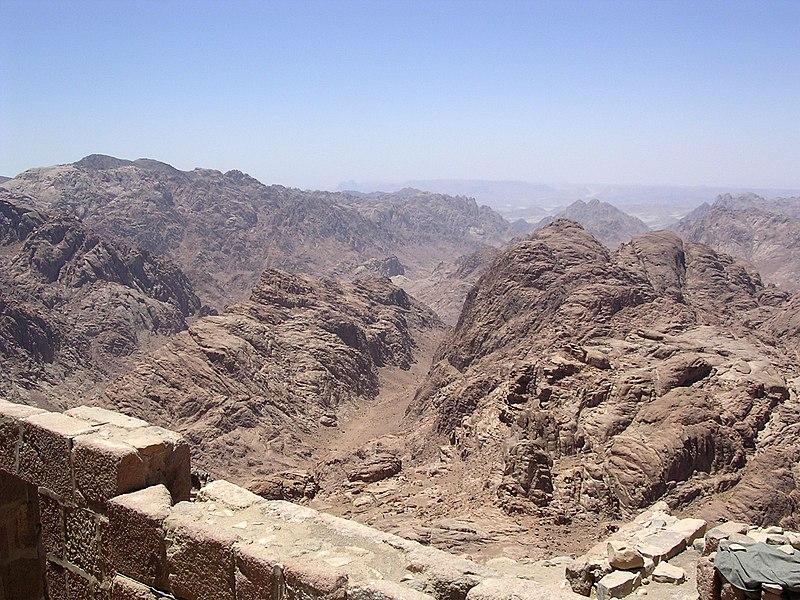 Ficheiro:View From Sinai.JPG