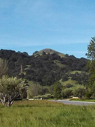 San Martin, California - Lion's Peak in San Martin.