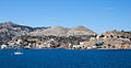View of the west part of Symi settlement, island of Symi.jpg