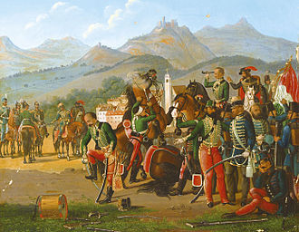 Surrender at Világos - Surrender at Világos (Hungarian painter, mid-19th century)