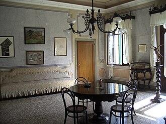 Villa Giusti - The table in Villa Giusti where the Armistice of Villa Giusti was signed