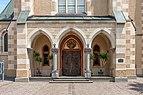 Villach Innenstadt Nikolaiplatz 1 Pfarrkirche hl. Nikolai Vorhalle Eingang 03072018 3835.jpg